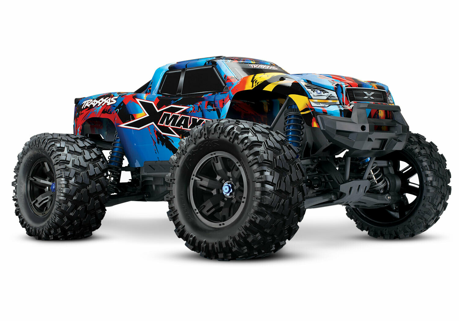 Traxxas X-Maxx 8S 4WD COMBO DEAL 1 1/7 (VXL-8S/TQi/2x4S 6700mAh/Live iD Charger)