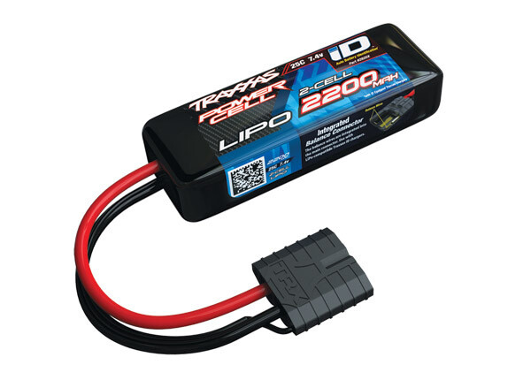 Traxxas 2200mAh 7.4v 2-Cell 25C LiPo Battery