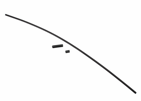 Antenna, Tube, Black (1)/Vinyl Antenna Cap (1)/Wire Retainer (1)