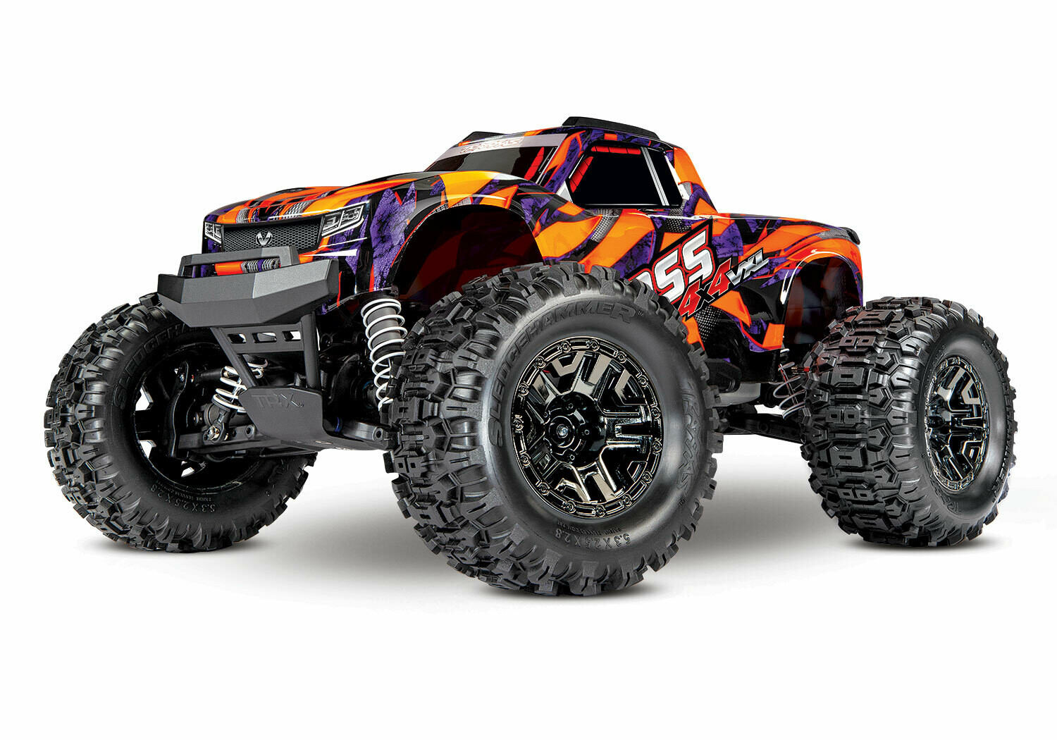 Traxxas Hoss 4x4 VXL 3S (TQi/Live iD Charger/3S 4000mAh Battery/Wireless Module/Phone Mount)
