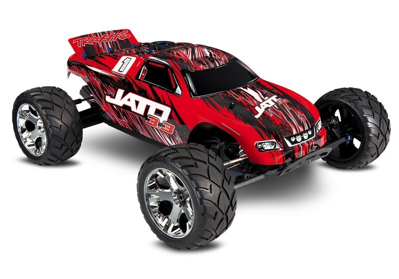 Traxxas Jato 3.3 Nitro 2WD Stadium Truck (+ TQi, TSM, Wireless Module, Telemetry, TRX3.3) + Includes FREE Traxxas Phone Mount