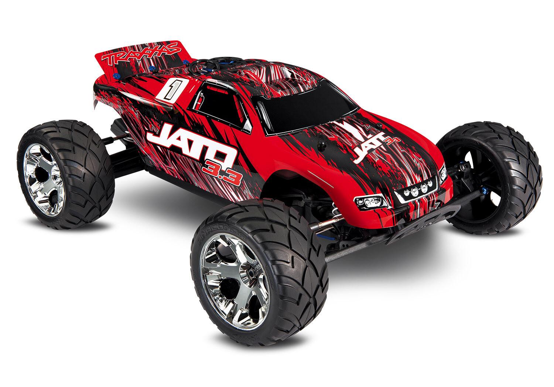Traxxas Jato 3.3 Nitro 2WD Stadium Truck (+ TQi, TSM, Wireless Module, Telemetry, TRX3.3) + Includes FREE Traxxas Phone Mount