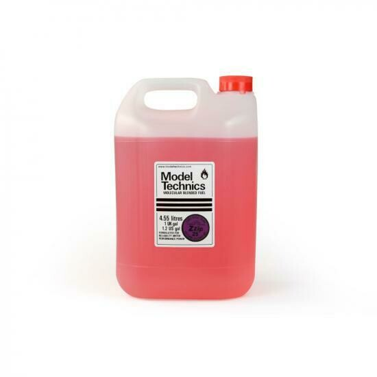 Model Technics Zzip 25% Nitro Fuel 4.55L (1Gal)