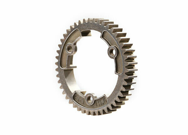Spur Gear, 46-Tooth, Steel (Wide-Face, 1.0 Metric Pitch)