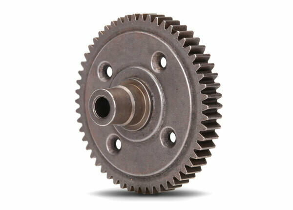 Spur Gear, Steel, 54-Tooth (0.8 Metric Pitch, Compatible with 32-Pitch) (For Centre Differential)