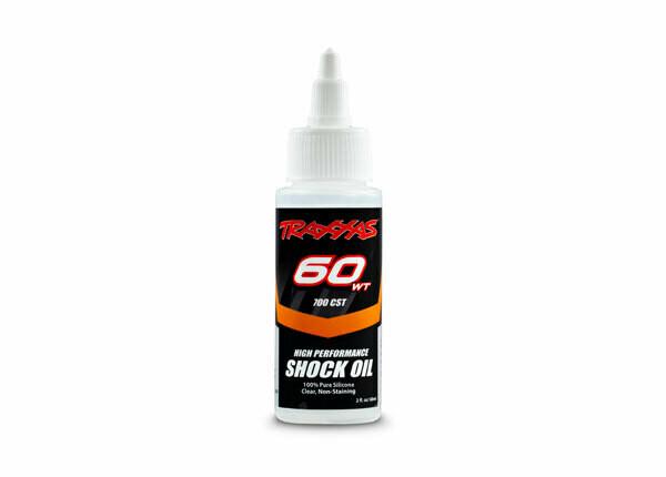 Traxxas Shock Oil (60wt, 700cSt, 60cc) (Silicone)
