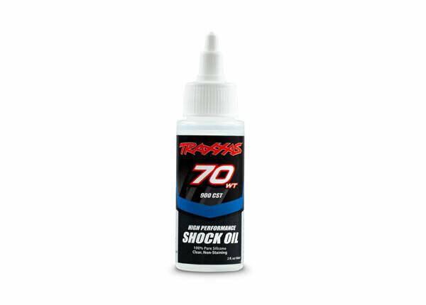 Traxxas Shock Oil (70wt, 900cSt, 60cc) (Silicone)