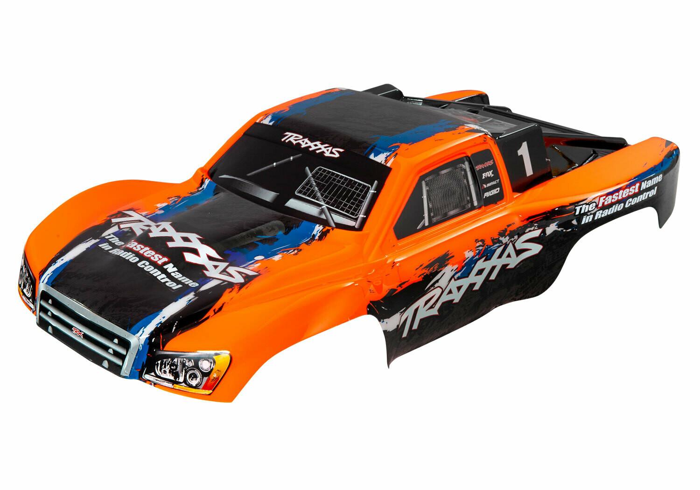 Body, Slash 4X4, Orange (Painted, Decals Applied)