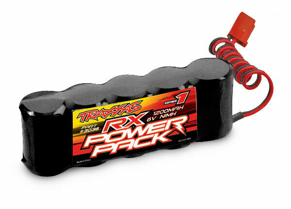 Traxxas Battery, RX Power Pack (5-C Flat Style, NiMH, 1200mAh) (Non iD)