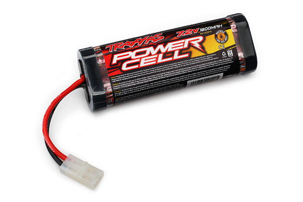 Traxxas Battery, Series 1 Power Cell 1800mAh (NiMH, 6-C Flat, 7.2V, Sub-C) (Non iD)