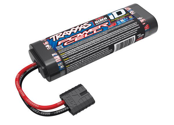 Traxxas Battery, Series 4 Power Cell, 4200mAh (NiMH, 6-C Flat, 7.2V)