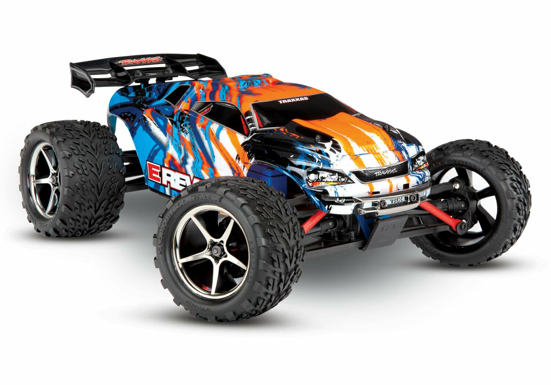 Traxxas 1/16 E-Revo 4x4 Monster Truck (TQ/XL-2.5/Titan 550/6-Cell NiMH/DC Charger)