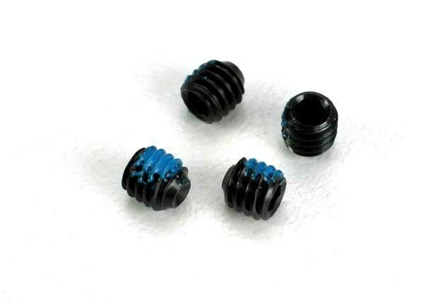 Screws, Set (grub) 4mm (6) (With Threadlock)