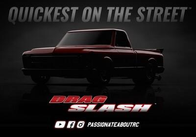Traxxas Drag Slash Information Coming Soon Price TBC DRAG-SLASH-TEASE
