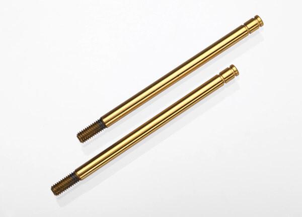 Shock Shafts, Hardened Steel, Titanium Nitride Coated (Long) (2)