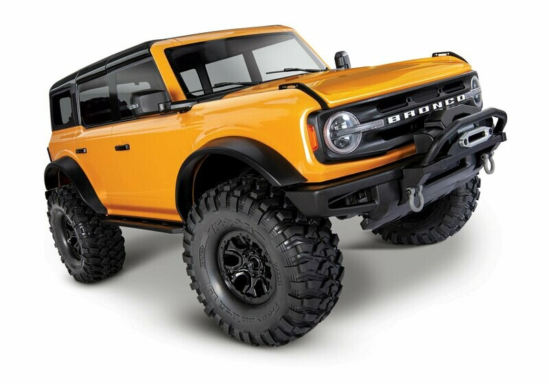 Traxxas 2021 Ford® Bronco TRX-4 Scale and Trail™ Crawler