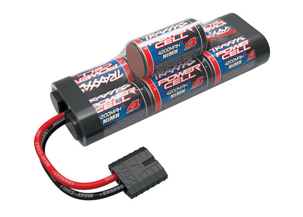 Traxxas Battery, Series 4 Power Cell ID, 4200mAh (NiMH, 8.4V hump)