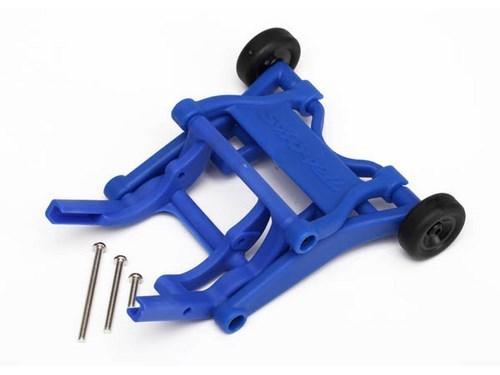 Wheelie Bar, assembled (Blue) (fits Slash, Stampede, Rustler, Bandit series)