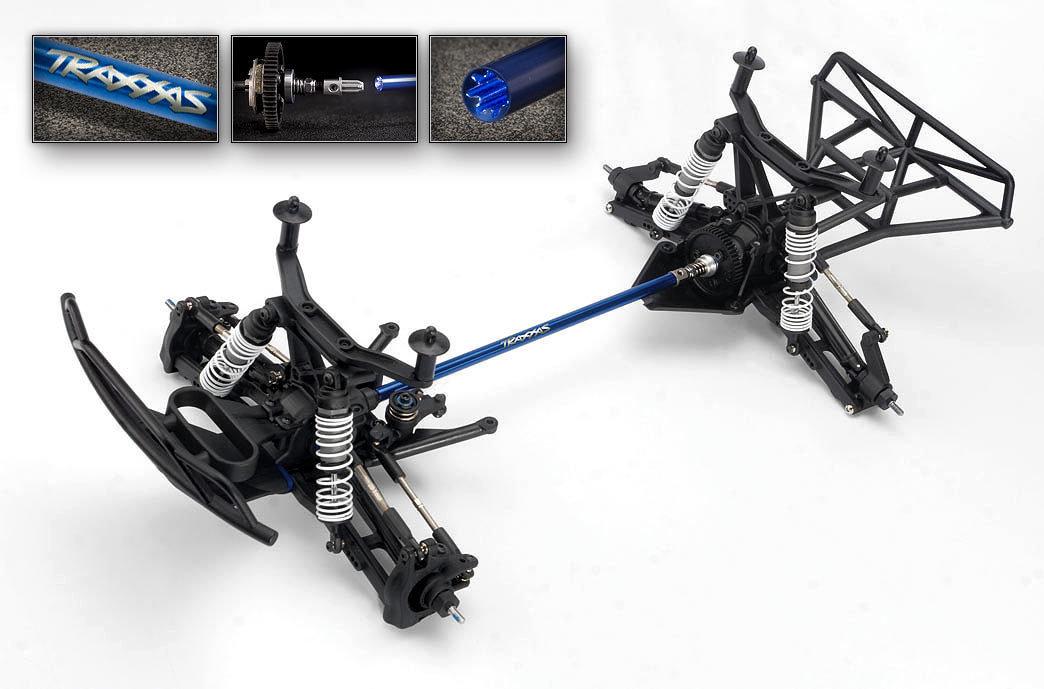 Traxxas Slash 4x4 VXL Brushless TSM (TQi/No Batt or Chg)