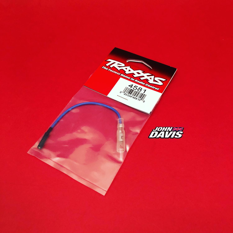 Traxxas Lead wire, glow plug (blue) (EZ-Start and EZ-Start 2)
