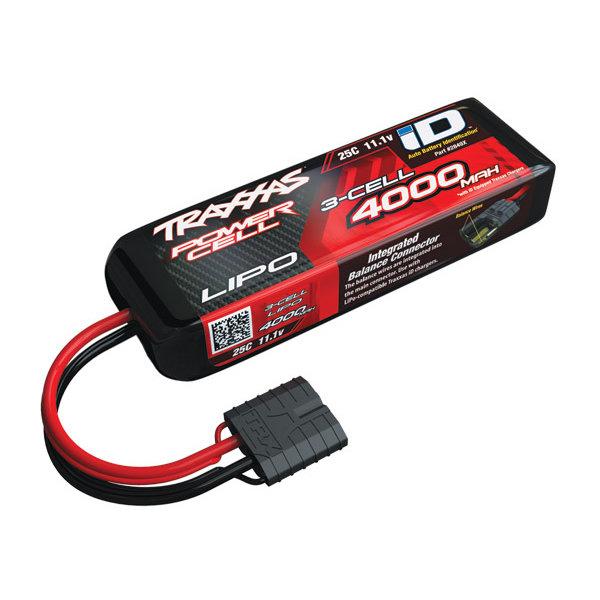 Traxxas 4000mAh 11.1V 3S 25C LiPo ID Battery (135x26x43mm)