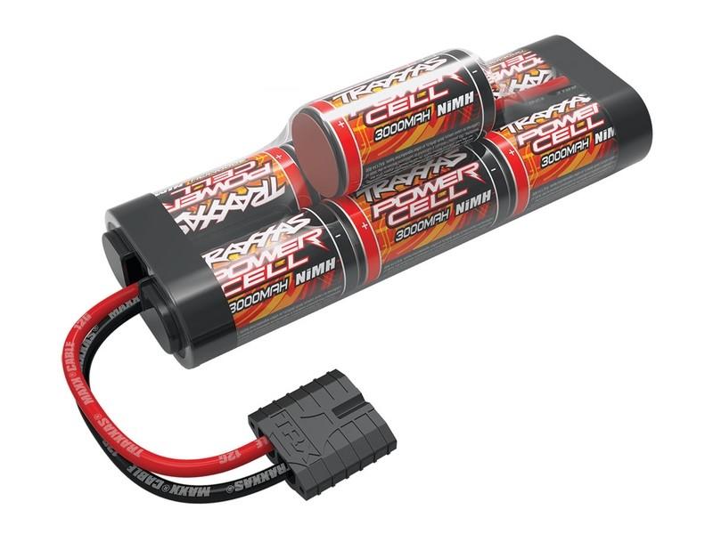 Traxxas Battery, Power Cell ID, 3000mAh (NiMH, 8.4V hump)