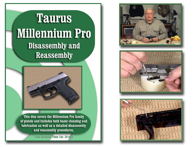 Taurus Millennium Pro PT 140 pistol.