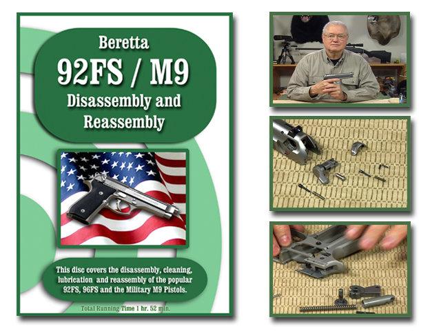 Beretta 92 FS also known as the M9.