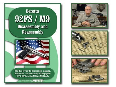 Beretta 92 FS also known as the M9.