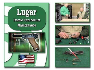 Luger Pistole Parabellum Maintenance
