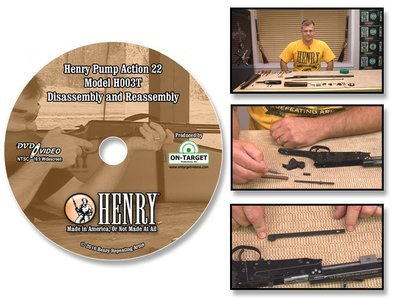 Henry H003T Pump Action Model in 22LR