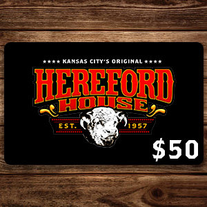 $50 Hereford House Gift Card