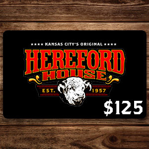 $125 Hereford House Gift Card