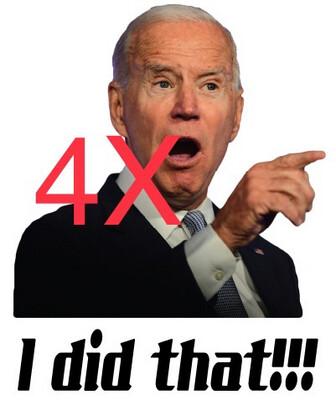Biden is to blame