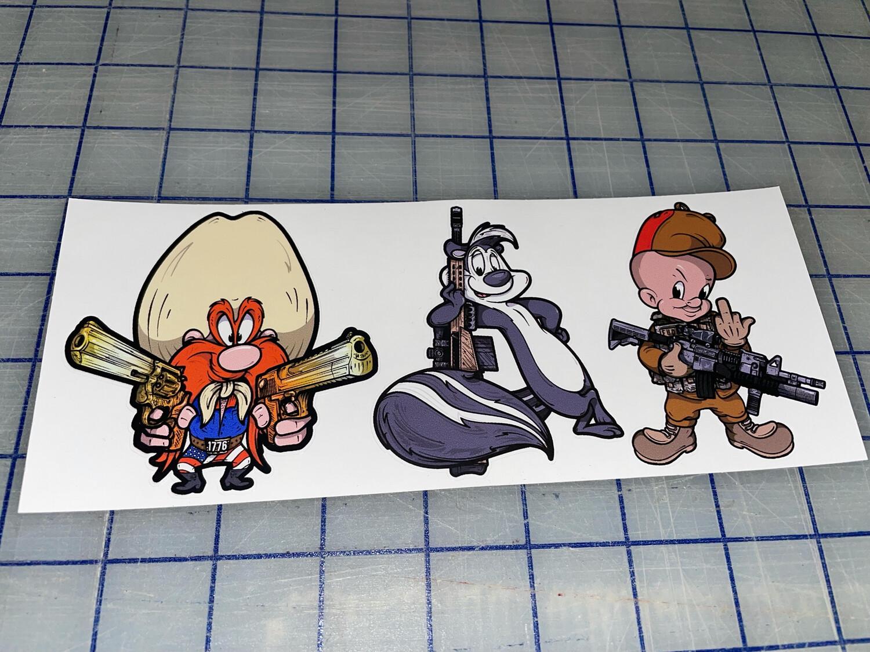 Cartoon Crusaders!