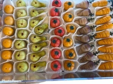 Marsepeinen Groetjes/fruit
