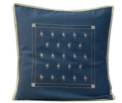 Dots Printed Cotton Cushion Cover