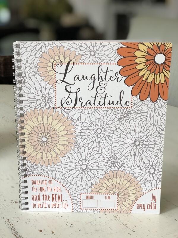 Laughter & Gratitude Journal DOWNLOADABLE
