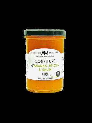 Confiture d'Ananas, Épices & Rhum