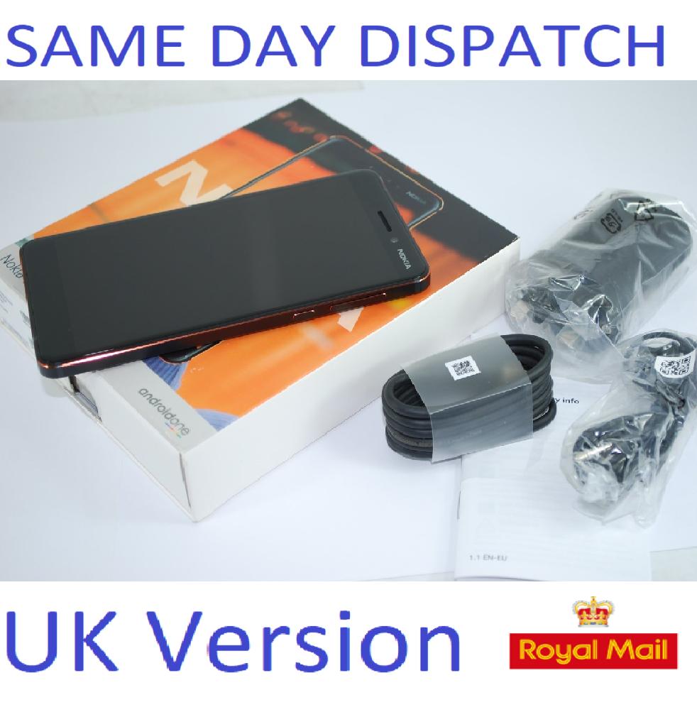New Nokia 6.1 (2018)  32GB, Black touchscreen unlocked 4G Sim-Free 4G  UK STOCK