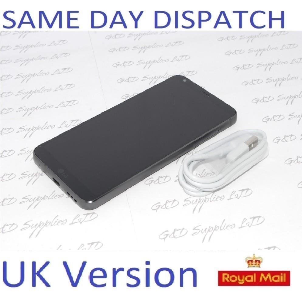 LG G6 H870 32GB 4G Black Android 7.0 GPS WIFI NFC13MP Dual Camera Smartphone NO BOX