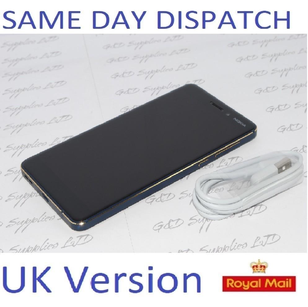 Nokia 6.1 (2018)  32GB, Blue touchscreen unlocked Sim-Free UK 4G STOCK no box #
