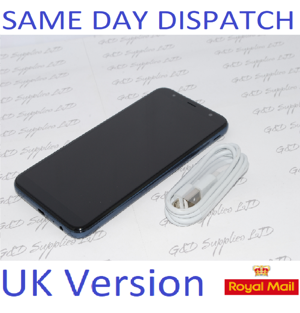 Samsung Galaxy J4 PLUS + 32GB  UNLOCKED BLACK 4G UK Version single sim NO BOX