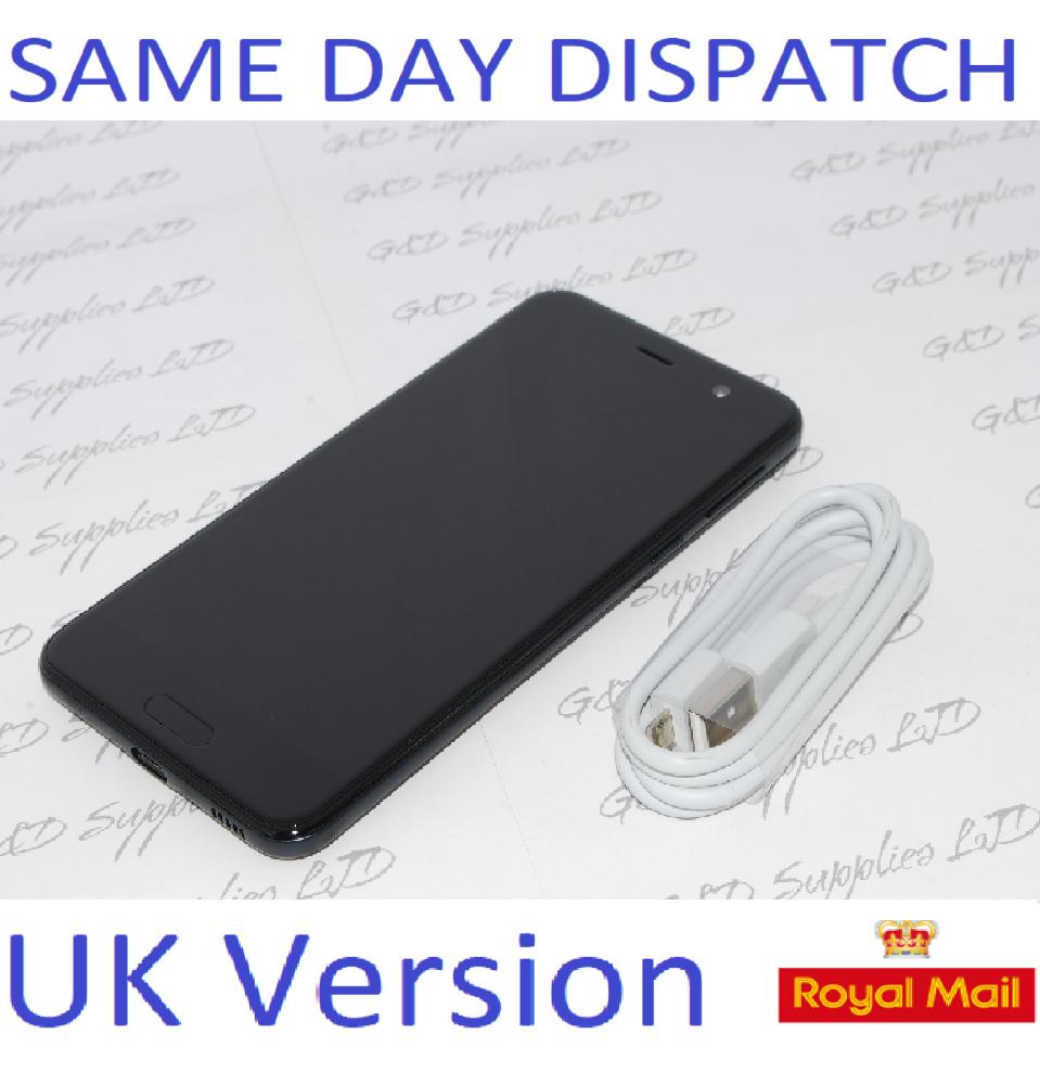 "HTC U Play 32GB 3GB RAM 5.2"" 16MP Black  SIM-Free Smartphone  UK STOCK  NO BOX"