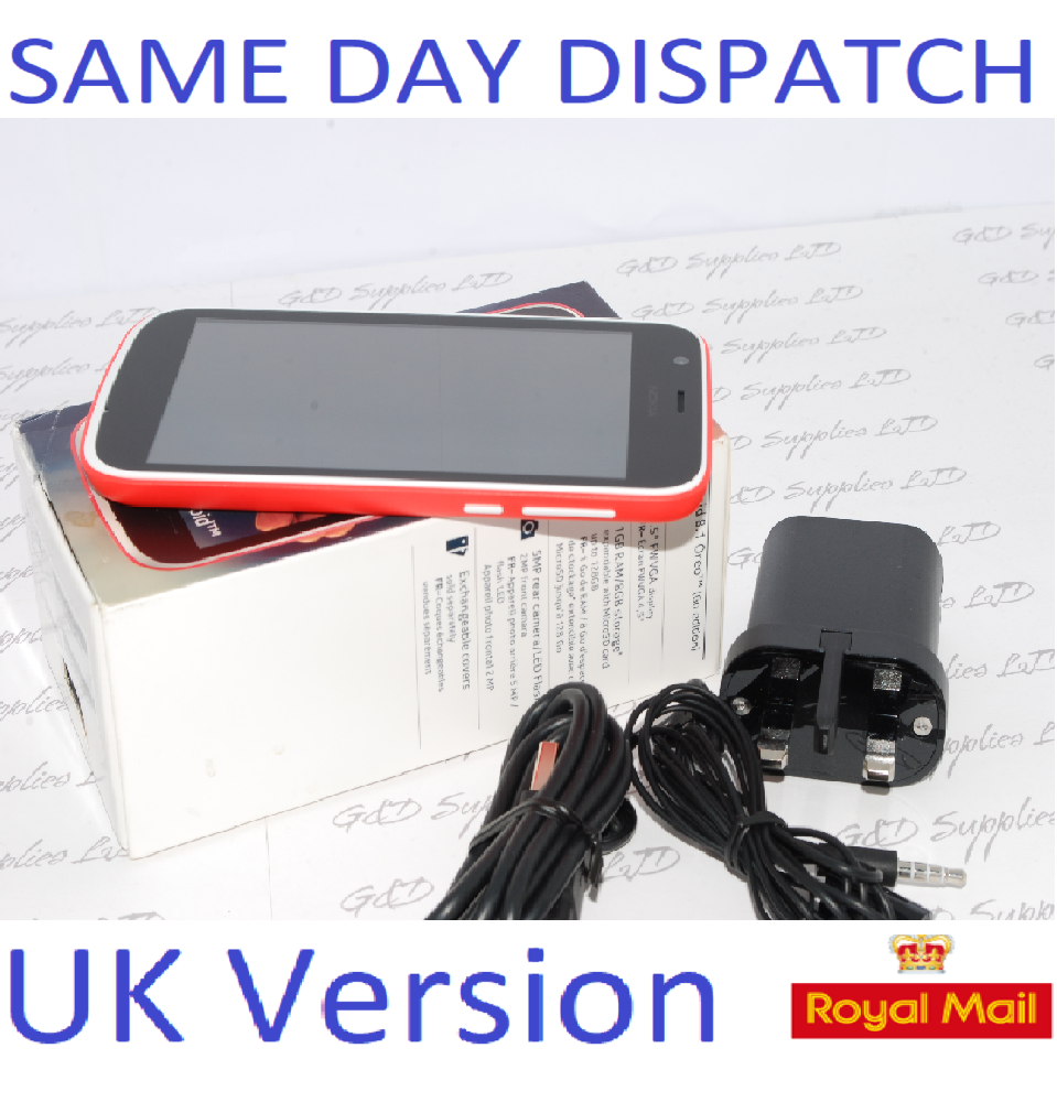 Nokia 1 4.5 Inch 1GB 8GB 1.1GHz Android 8 Mobile Phone red UK STYOCK #
