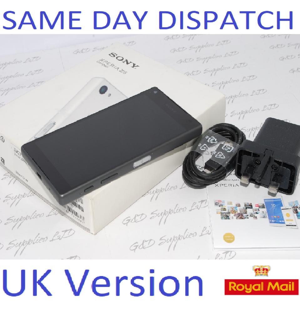 Sony Xperia Z5 Compact E5823 - 32GB - Unlocked Black UNLOCKED UK STOCK #
