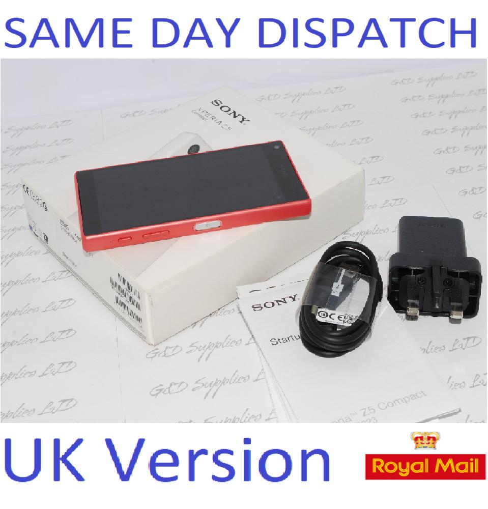 Sony Xperia Z5 Compact E5823 - 32GB - Unlocked CORAL UNLOCKED UK STOCK #