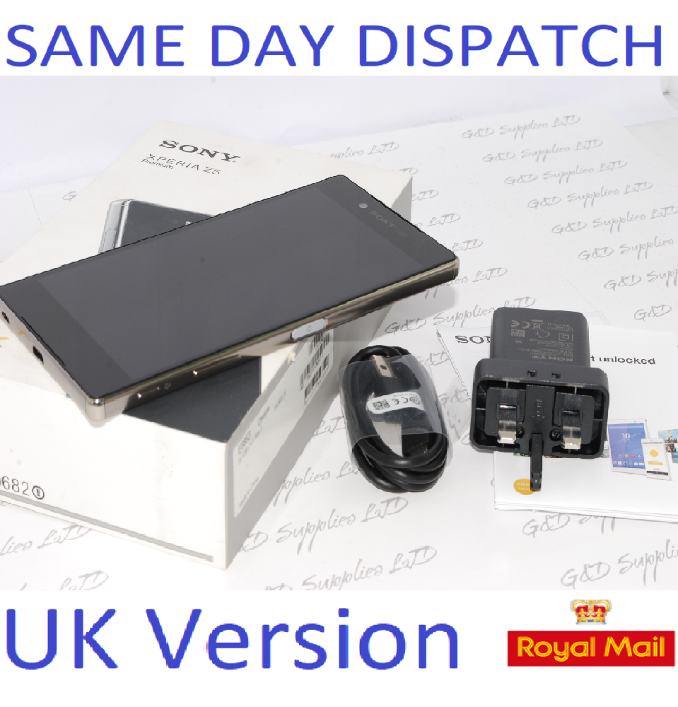 Sony Xperia Z5 Premium E6853 Unlocked Smartphone chrome UK STOCK #