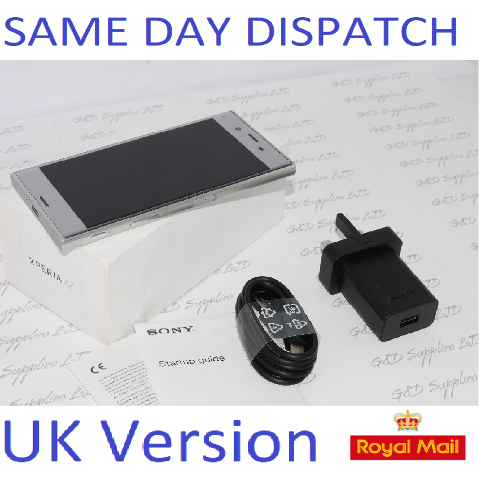 Sony Xperia XZ F8331 SILVER 32GB WiFi NFC GPS 4G  Unlocked Smartphone #