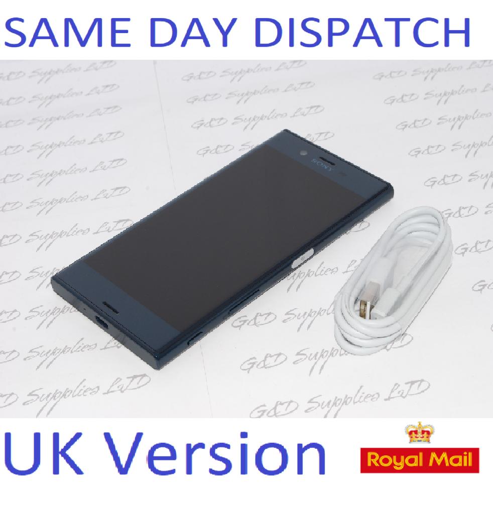 Sony Xperia XZ F8331 Blue 32GB WiFi NFC GPS 4G  Unlocked Smartphone NO BOX
